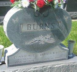 Connie Sue <i>Wilson</i> Burns