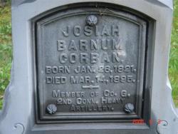 Pvt Josiah Barnum Corban
