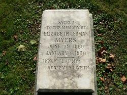 Elizabeth Lehman Myers