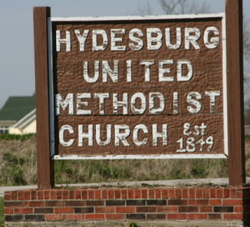 Hydesburg Methodist Episcopal Church Cemetery