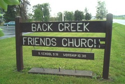 Back Creek Friends Cemetery