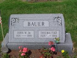 Thelma <i>Fike</i> Bauer