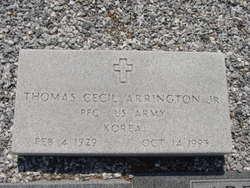 PFC Thomas Cecil Arrington, Jr