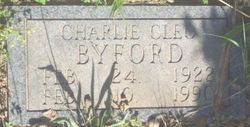 Charles Cleo Charlie Byford