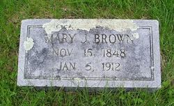 Mary Jane <i>Vance</i> Brown