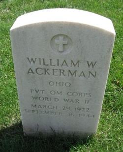 William W Ackerman