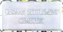German Settlement Cemetery