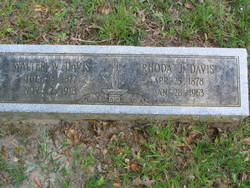 Rhoda J Davis