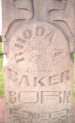Rhoda Ann <i>Thompson</i> Baker