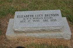 Elizabeth Lucy <i>Brunson</i> Rogers