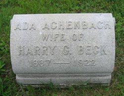 Ada <i>Achenbach</i> Beck