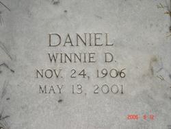 Winona Winnie <i>Daniel</i> Daniel