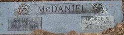 George Washington McDaniel