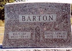 Louella Esther Ann <i>Lee</i> Barton