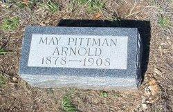 May <i>Pittman</i> Arnold