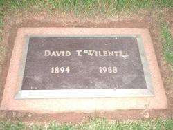 David T. Wilentz