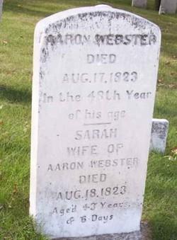 Aaron Webster