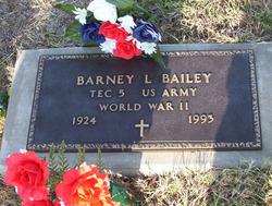 Barney Leland Bailey