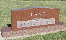 Ralph E. Lang