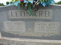 Cornelia Frances Nealie <i>Bates</i> Leonard