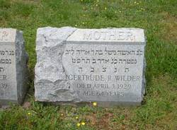 Gertrude R. Wilder
