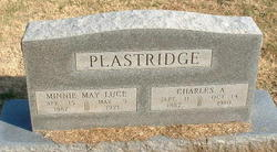 Minnie May <i>Luce</i> Plastridge