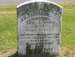 Sarah Hilleary McKee