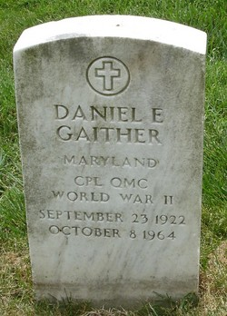 Corp Daniel Edward Gaither
