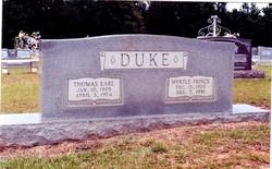 Myrtle Irene <i>Prince</i> Duke