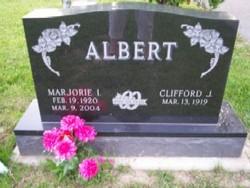 Marjorie I. <i>Hoff</i> Albert