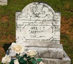 Martha Teague <i>Johnston</i> Carpenter