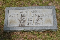 Arrie Bell Anderson