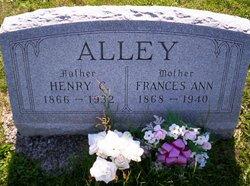 Frances Ann <i>Peel</i> Alley