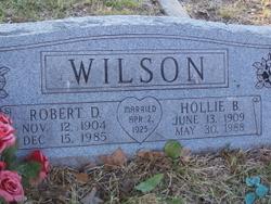 Robert (Bob) D. Wilson