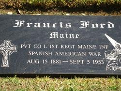 Francis Joseph Frank Ford