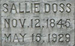 Sallie Doss