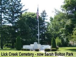 Lick Creek Cemetery (Defunct)