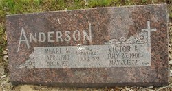 Pearl Margorie <i>Johnson</i> Anderson