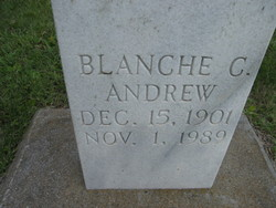 Blanche <i>Clodfelter</i> Andrew