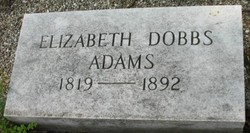 Elizabeth <i>Dobbs</i> Adams