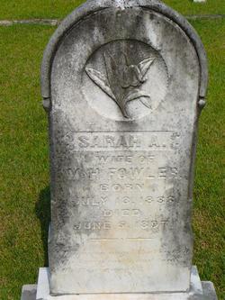 Sarah A. <i>Shannon</i> Fowler