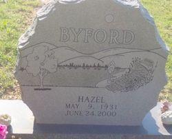 Hazel Beatrice <i>Williams</i> Byford