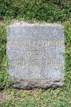 Sarah Jane <i>Hudson</i> Clanton