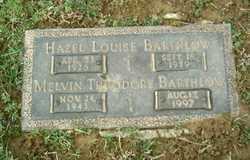 Melvin Theodore Teddy Barthlow