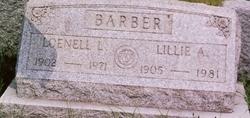 Lillie Ada Pete <i>Kenyon</i> Barber