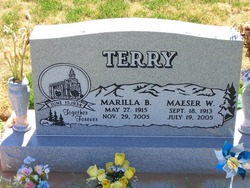 Maeser Welcome Terry