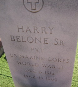 Harry Belone, Sr