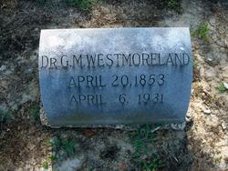 Dr George M Westmoreland