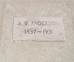 Sgt Randolph Washington Anderson