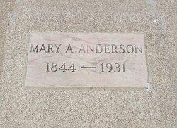 Mary Anice <i>Larkin</i> Anderson
